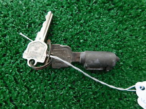 1957 1958 Mercury Ignition Switch Cylinder With 2 Keys 57 58