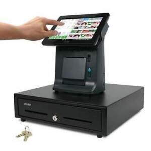 Uaccept Mb3000 Pos System 9 7 Capacitive Touchscreen Cash Register Drawer