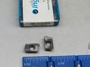 Ingersoll Aomt 120416r Carbide Milling Inserts 10 Pcs New Grade In2030