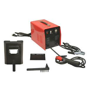 60 70 Amp Mma Arc Welder Electric Welding No Gas Cooling Fan