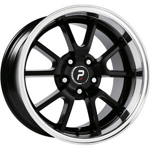 Oe Performance 118 Mustang Fr 500 Replica 18x9 5x114 3 5x4 5 30mm Black Rims