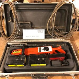 Nice Spy Portable Holiday Detector Kit Model 780 Pipe Cable Underground Locator
