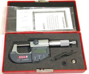 New Spi Ip65 0 To 1 00005 Resolution Electronic Outside Micrometer 13 731 5