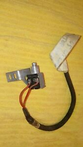 1964 Lincoln Convertible Top Up Limit Switch Frame Sensor Down 1965