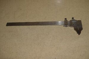 Starrett Model 122 12 Inch Calipher dd