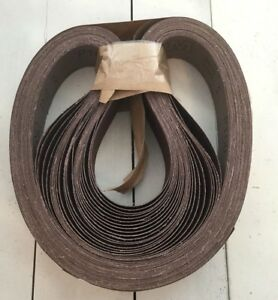 25 Pack 3m 341d Cloth Belts Film Lok Grade P100 2 X 48 Abrasive Sanding