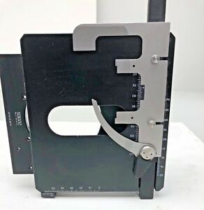 Used Carl Zeiss Standard 20 Microscope Mechanical Stage 47 34 15 99 01 Part