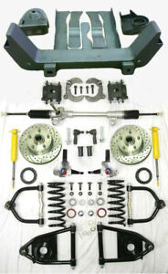 1964 1970 Ford Mustang Ii Manual Front End Suspension Kit Stock Plain Mercury