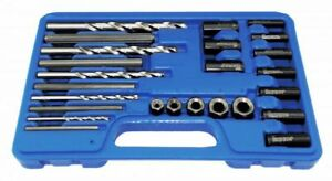 Astro Pneumatic 9447 25pc Screw Extractor Drill Guide Set
