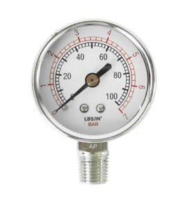 Binks 83 2727 Air Pressure Gauge 100 2 3 16in Diameter