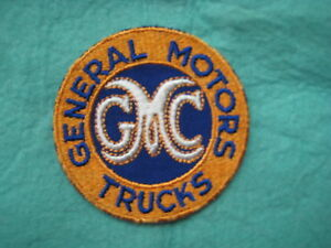 Vintage Gmc General Motors Trucks Stovebolt Dealer Service Patch 3 X 3