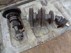 Ford Tractor 8n Transmission Top Bottom Shafts Gears W reverse Idler