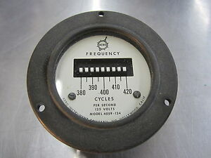 400 Cycle Frequency Meter