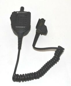 Motorola Rmn5089b Commander Ii Plus Microphone Xts Series Ht1000 Mt mts2000