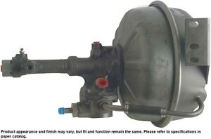 Power Brake Booster Hydro Vac Cardone 51 9501 Reman