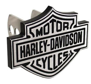 Harley Davidson Silver Brushed Hitch Cover Plug