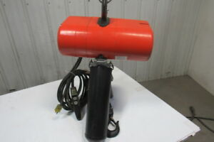Cm Lodestar Model R 2 Ton 115v 1ph Electric Chain Hoist 9 Lift 8fpm