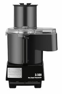 New Waring Commercial Wfp14sc Batch Bowl Continuous Food Processor 3 5 Quart