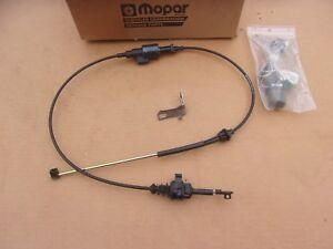 New Genuine Mopar 1987 Jeep Cherokee Transmission Shift Park Cable Interlock