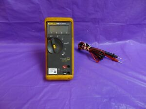 Fluke 70 Iii Digital Multimeter W Test Leads