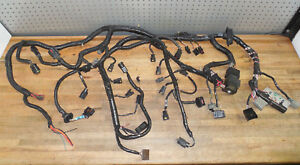 94 95 Ford 5 0 Mustang Gt Computer Fuel Injection Engine Wiring Wire Harness Oem