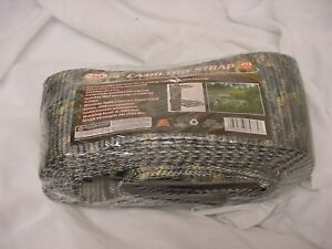 Camo Tow Strap 20 X 4 20 000lb Heavy Duty Towing Tree Stand Nylon 20 Feet New