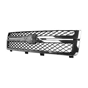 Front Grille Fits 2011 2014 Chevrolet Silverado 25 3500 104 2243
