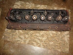 Ford Tractor Jubilee 600 Engine Head Eae 6600 W valves