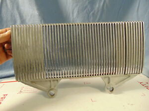 1939 1940 Era Oldsmobile Dash Center Speaker Grill Trim Coupe Sedan Orig