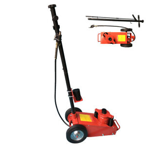 22 Ton Air Hydraulic Floor Jack Work Shop Automotive Repair Lift Tool Red