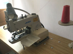 Yuki Mb 373 Industrial Button Sewing Machine With Table And Motor