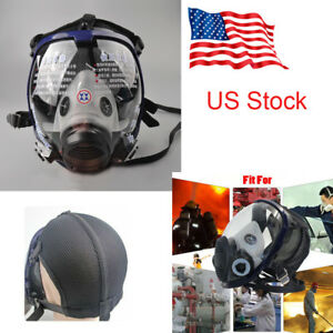 Us Adjustable Full Face Gas Mask Painting Spraying Dustproof For 6800 Respirator