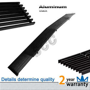 1pc Black Aluminum Billet Grille Grill Fit 91 93 Gmc Jimmy sonoma Chevy S10