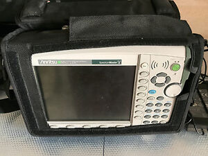 Anritsu Ms2721b Handheld Spectrum Analyzer 9khz To 7 1ghz Option 20 Tracking Gen