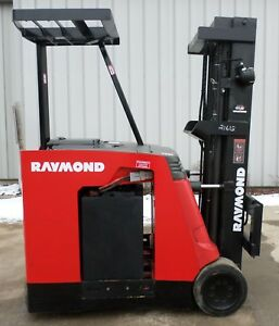 Raymond Model R40 c40tt 2002 4000 Lbs Capacity Great Docker Electric Forklift