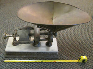 Large Merchant S Countertop Balance Scale 1903 Micrometer By Dodge Yonkers Ny