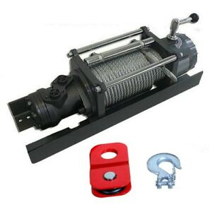 Hydraulic Tow Truck Winch 10 000 Lbs Capacity 1 813 Psi 4 To 10 6 Gpm