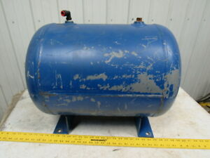 Brunner 0521 22 Gal Horizontal Steel Air Tank W 1 2 Npt Port