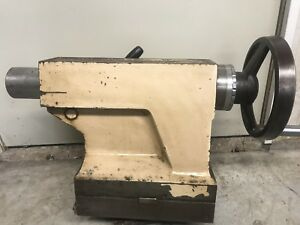 Clausing Colchester 21 Tail Stock Tailstock