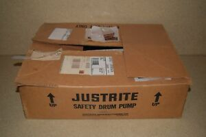 Justrite Safety Drum Pump new In Box