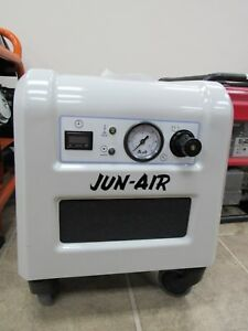 Jun air 87r 4p 1770008 Quiet Rocking Piston Air Compressor Only 1 Hour Total Use