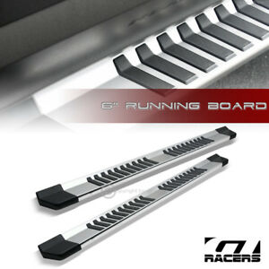 For 2015 2019 Ford F150 f250 Super ext 6 Oe Aluminum Side Step Running Board Jz
