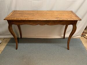 Oak Distressed Sofa Entry Hall Table
