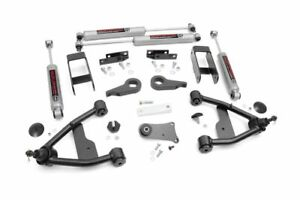 Rough Country 2 5 Leveling Lift Kit 82 04 Chevy S10 Pickup 4wd