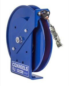 Coxreels Sdh 200 Static Discharge Hand Crank Reel W 200 Of Galvanized Cable