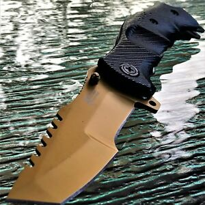 MTECH USA Tanto Gold Xtreme Spring Assisted Tactical Folding Pocket Knife Blade