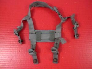 US Army Issued 4 Point Chin Strap Set w Bolts for ACH amp; MICH Helmet Foliage $15.99