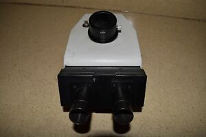Leitz Wetzlar 512 761 20 Microscope Head No Eyepieces