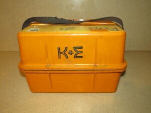 K e 71 2412 Double Sphere Optical Square Case Only 14 5 X 10 X 9 5 bx5