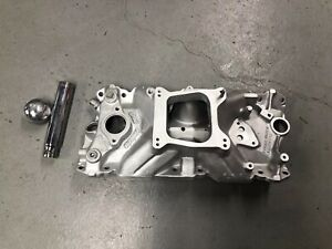Holley Street Dominator Sbc Small Block Aluminum Intake Manifold 350 327 383